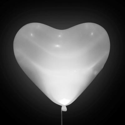 Светодиодные сердца (Белые)