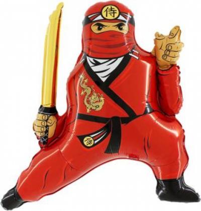 Ниндзя красный