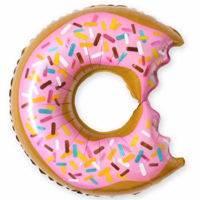 Надкусанный пончик