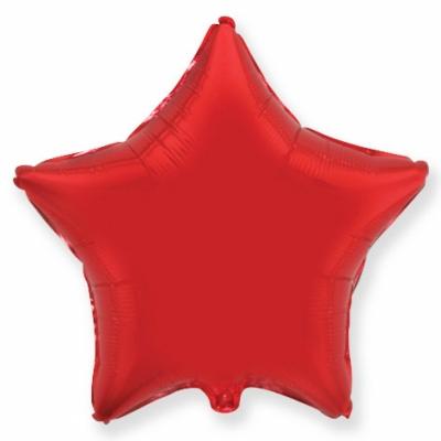 Красная звезда (гелиевая)