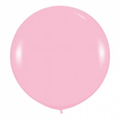 Розовый шар-гигант