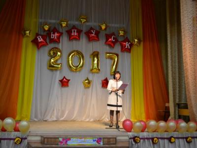 Оформление школы на выпускной №12