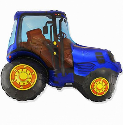 Трактор (синий)