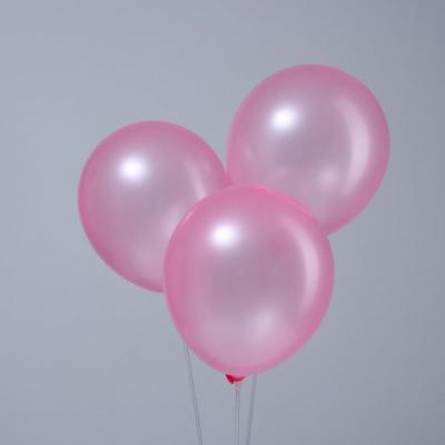 Розовые гелиевые шары