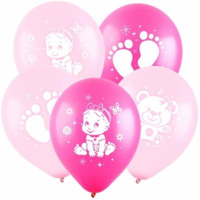 Гелиевые шары для малышки