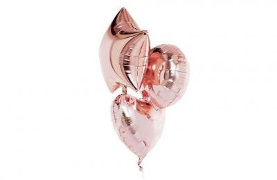Розовое золото (гелиевая)