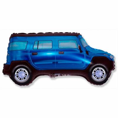 Синий джип