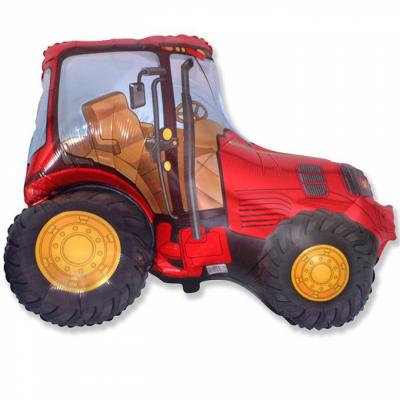 Трактор (красный)
