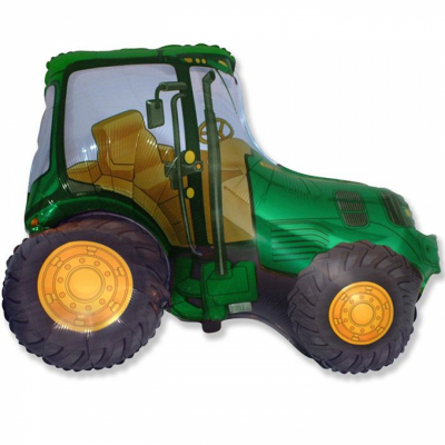 Трактор (зеленый)