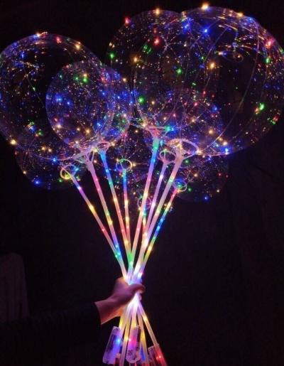 Светящиеся шары bobo на палочке