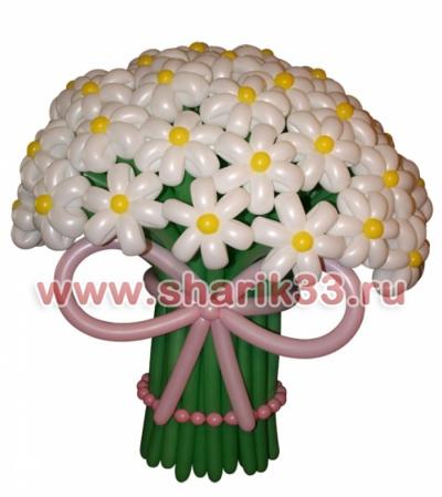 Большой букет (55 цветков)