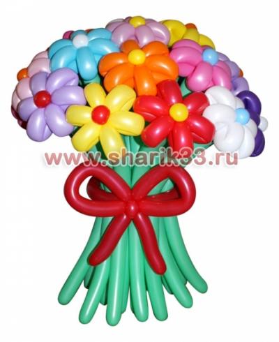 Букет Ассорти (19 цветков)