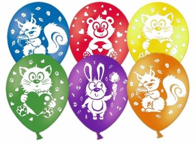 Гелиевые шары со зверями