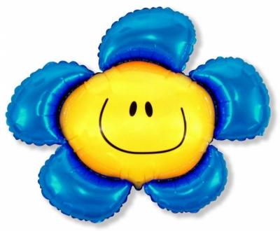 Солнечная улыбка (синий)