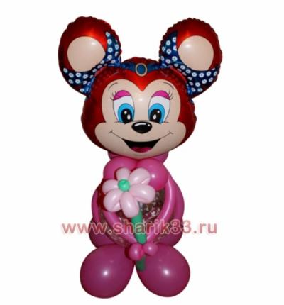 Бабси-Маус с цветочком