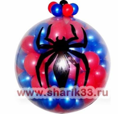 "Шар-Сюрприз ""Человек-паук"""