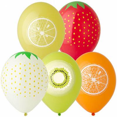 Гелиевые шары с фруктами