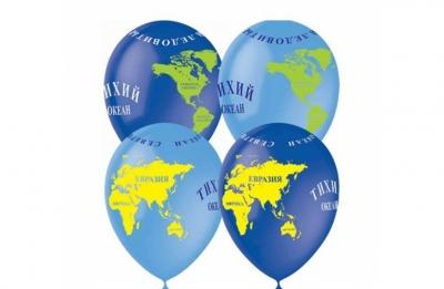 Гелиевые шары глобусы
