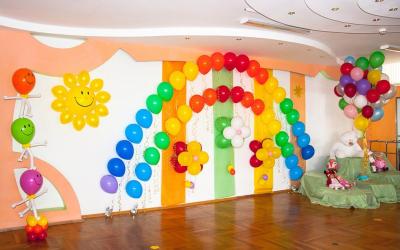 Оформление детского сада во Владимире №95