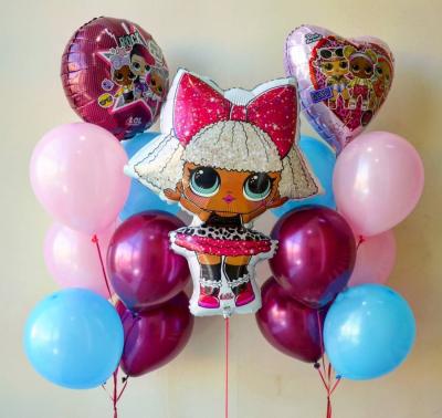Набор с розовой куклой