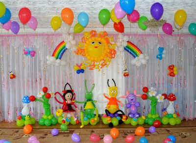 Оформление детского сада №94