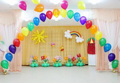 Оформление детского сада №97