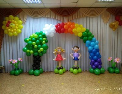 Оформление детского сада №102