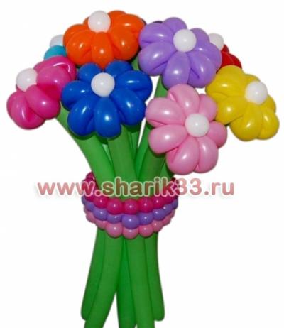 Весенний букет (9 цветков)
