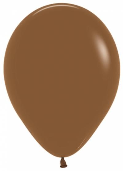 Коричневые гелиевые шарики