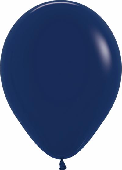 Темно-синие гелиевые шары