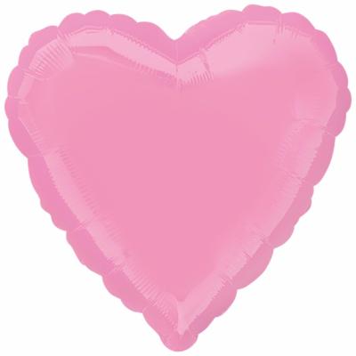 Розовое сердце (пастель)
