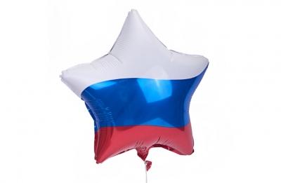"""Гелиевая звезда """"Россия"""""""