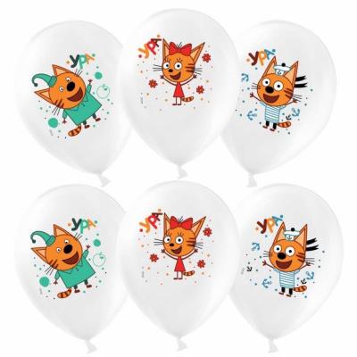 """Гелиевые шары """"Три кота"""""""