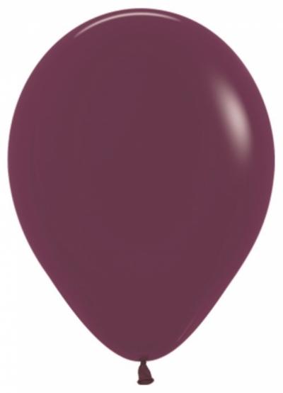 Бургундия гелиевые шарики