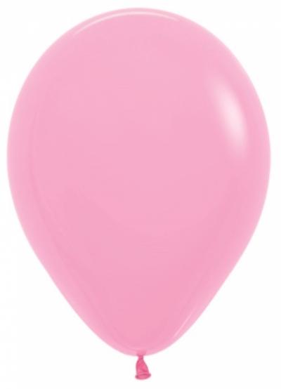 Розовые гелиевые шарики