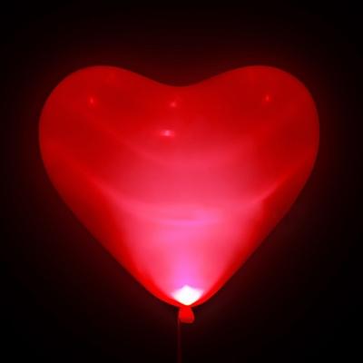 Светодиодные сердечки (Красные)