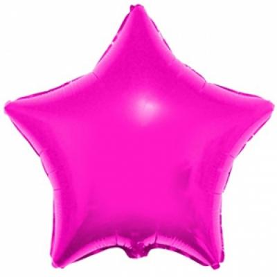 Малиновая звезда (гелиевая)