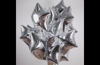 Серебряная звезда (гелиевая)