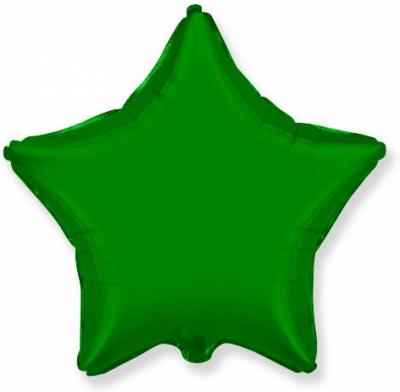 Зеленая звезда (гелиевая)