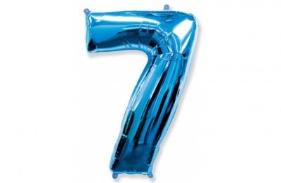 Большая цифра 7 (гелиевая)