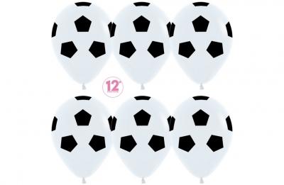 Гелиевые шары - футбольные мячи