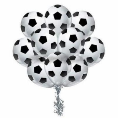 Связка из 15 футбольных шаров
