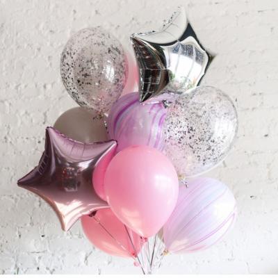 Нежно-розовый набор