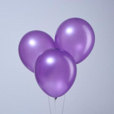 """Фиолетовые гелиевые шары """"металлик"""""""
