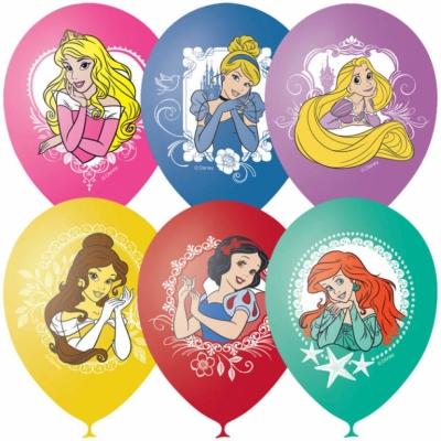 Гелиевые шары с принцессами