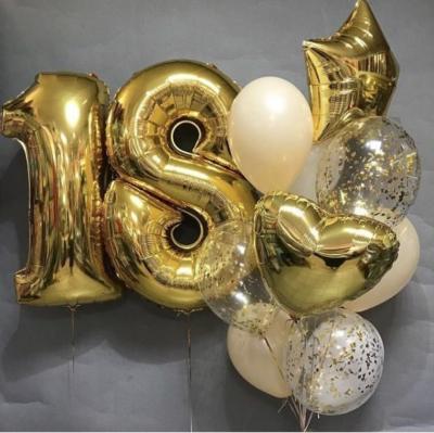 Набор шаров на 18 лет