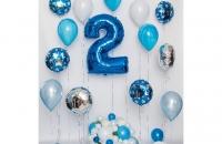 Большая цифра 2 (синяя)