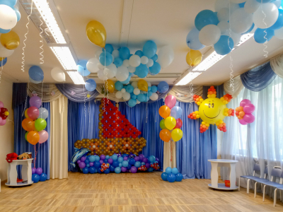 Оформление детского сада №53