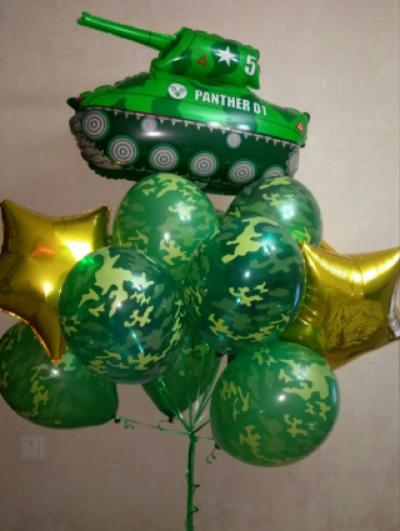 Набор шаров с танком