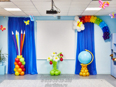 Оформление детского сада №58
